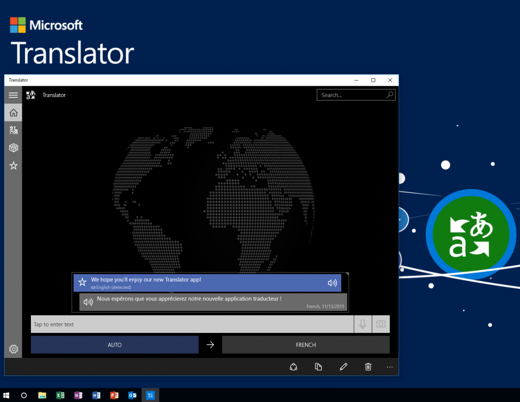 Translator app for windows 10
